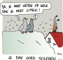Cartoon energiekalender 2008