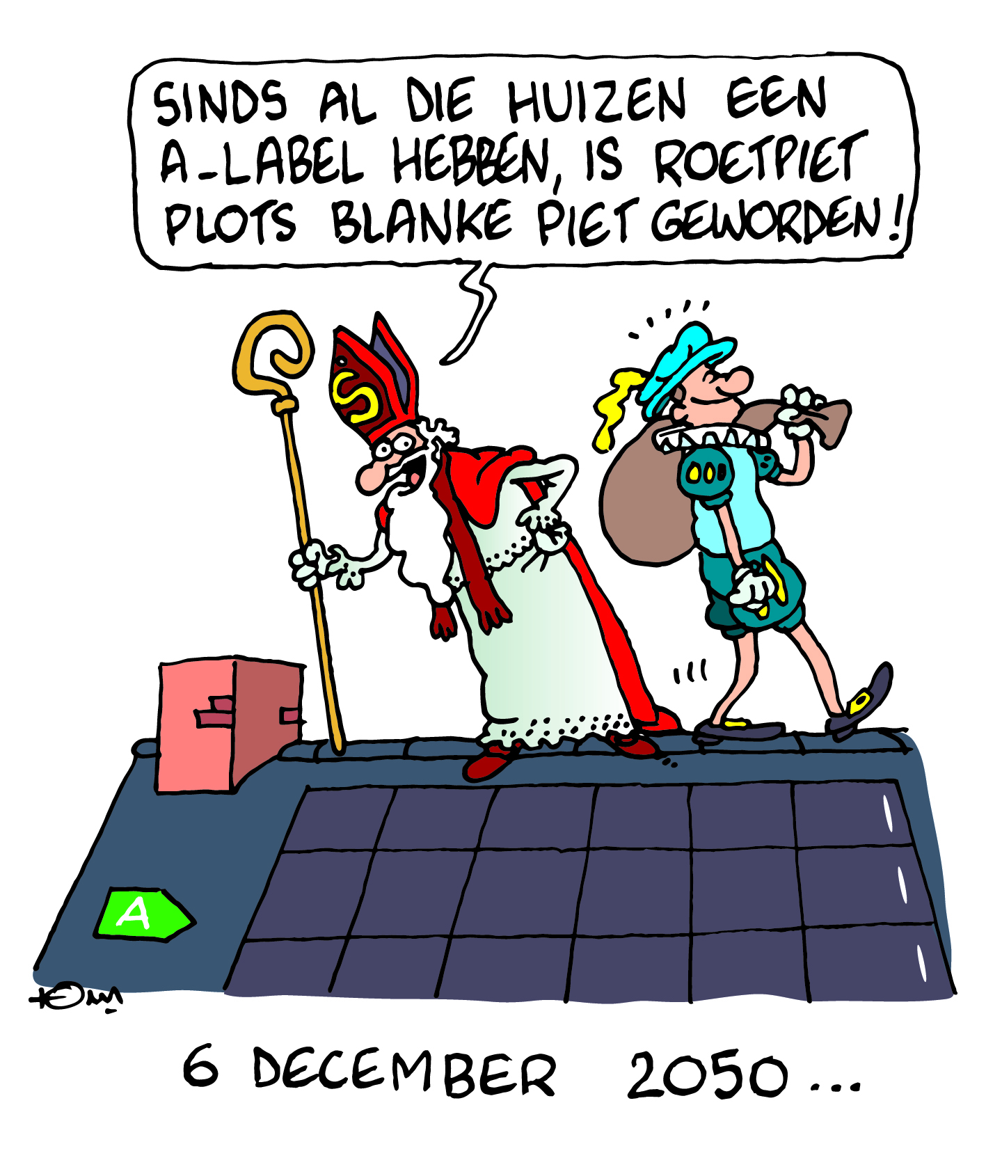 Energiekalender 2020 - Labels